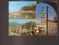 Salzburg - Mehrbildkarte - Salzburg Stadt