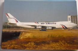 AIR LIBERTE  B 747 100   LX FCV - 1946-....: Ere Moderne