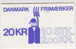 PGL T0079 - DENMARK Yv N°752 CARNET ** - Markenheftchen