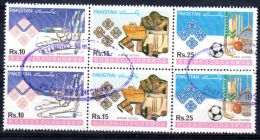 1992, Productions Pakistanaisaes - Tennat  2 X YT  802 - 804, Oblitéré, Lot 43153 - Pakistan