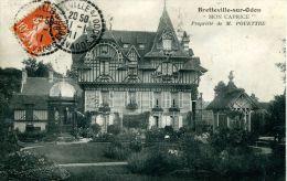 """N°5350A -cpa Bretteville Sur Odon -""""mon Caprice"""" -propriété De M. Pouettre- - Frankreich"""