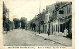N°5361A -cpa Bretteville Sur Odon- Route De Bretagne- - Frankreich