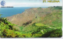 ST,HELENA ISL. PHONECARD(GPT)  SANDY BAY CN:325CSHC-1200pcs-1998-USED(1) - St. Helena Island