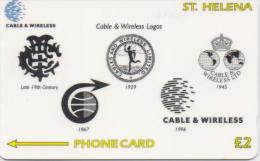 ST,HELENA ISL. PHONECARD(GPT) C&W LOGO CN:327CSHD-1200pcs-1999-USED(1) - St. Helena Island
