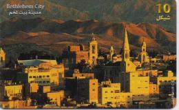 PALESTINE PHONECARD(CHIP) BETHLEHEM CITY -1/00-USED(1) - Palestine