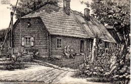 "Orig. Feldp.-Karte 1.WK ""Kurl�ndisches Bauernhaus"" K.D.Feldpost, 26.84.17"