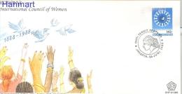 Indonesia 1988 Mi 1266 FDC- Organizations, Peace - Organizzazioni