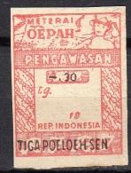 Interim Meterai Oepah Pengawasan SCARCE!!!(i252) - Nederlands-Indië