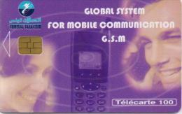 TUNISIA PHONECARD GSM 1/01 -USED(1) - Tunisie