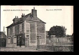 76 HAUTOT ST SULPICE (envs Doudeville) Boucherie Saunier, Ed Conseil, 1929 - France