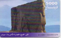 IRAQ PHONECARD(CHIP)   -USED(1) - Iraq