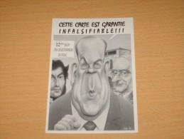 CPM Cpsm FIGEAC 12E SALON 1994 CP PIRATE Signé VEYRI CARICATURE POLITIQUE CHARLES PASQUA TB - Veyri, Bernard
