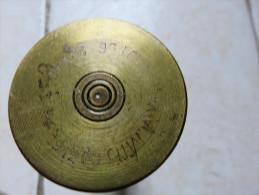 Douille US De 37mm Datée 1942, Marquée LOT 56  23141-7 37MM6, Hauteur 22 Cm - 1939-45