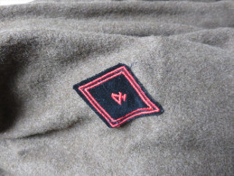Manteau Français 4ème Régiment Du Génie, Tampon Carré DAULHAN & Fils MONTPELLIER, Taille 33 - Uniforms