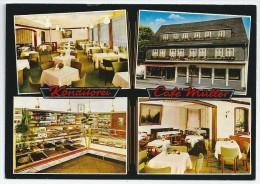 Cpsm: ALLEMAGNE Konditorel - Café FELIX MULLER  N° 5788 - Bad Driburg