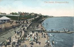 ESSEX - DOVERCOURT BAY - THE SANDS 1909 Es555 - Angleterre