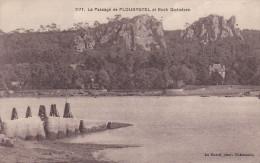 LE PASSAGE DE PLOUGASTEL ET ROCH QUENEZEN  AVEC  N°183 JEUX OLYMPIQUE DE PARIS  SCANS RECTO VERSO - Plougastel-Daoulas