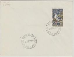 TAAF 1965 Albatoss 1v  Ca St. Paul Et Amsterdam 21 Jan 1968 (F3137) - FDC