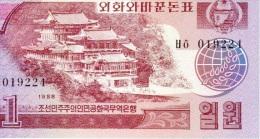 1 Won 1988 NEUF - Korea, North