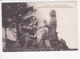 CAST (29-Finistère), La Chasse De St Hubert, Anciennes Sculptures Sur Le Presbytère, Ed. B&G 1920 Environ - Other Municipalities