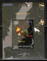 CEPT 2009 MK MI BL 19 MACEDONIA - 2009