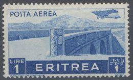 Eritrea 1936 Pittorica Lire 1 Nuovo - Eritrea