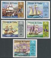 Tristan Da Cunha. 1971 Island Families. MH Complete Set SG 153-157 - Tristan Da Cunha