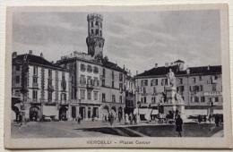 Vercelli Piazza Cavour Non Viaggiata Periodo Primi 900 F.p. - Vercelli