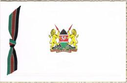 Kenia 1964 Christmas Greetings President Jomo Kenyatta & Signature