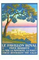 Affiche -Le Pavillon Royal Près De Biarritz - Lavielle 6598 - Neuve - Tbe - Publicité