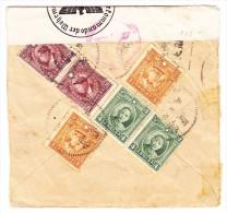 China Zensurierter Brief Nach Belgien - 1912-1949 République
