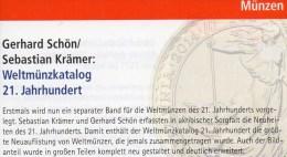 Weltmünzkatalog A-Z 2015 Neu 40€ Münzen 21.Jahrhundert Schön Battenberg Verlag Coins Europe America Africa Asia Oceanien - Telefonkarten