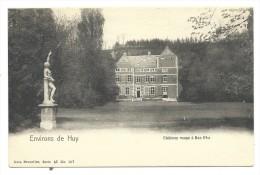 CPA - Environs De Huy - Château Rouge à BAS OHA  // - Wanze