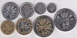 CABO DAKHLA  Set 8pcs 2006, 2 Bimetals, Unusual Coinage - Monete