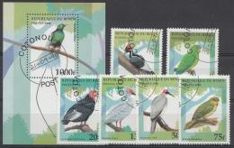 OISEAUX VÖGEL VOGELS BIRDS  TIERE ANIMALS Rep.du Benin1996 Oblitérés - Used - Gebruikt - Vogels