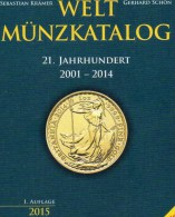 Münzen 1.Auflage 2001-2014 Weltmünzkatalog A-Z Neu 40€ Schön Battenberg Verlag Coins Europe America Africa Asia Oceanien - Loisirs Créatifs