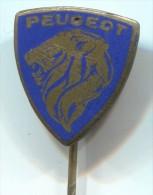 PEUGEOT - Car, Auto, Vintage Pin  Badge, Enamel - Peugeot