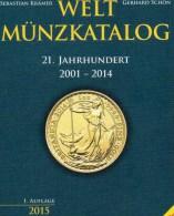 1.Auflage 2001-2014 Weltmünz-Katalog Münzen A-Z Neu 40€ Schön Battenberg Verlag Coin Europe America Africa Asia Oceanien - Pin's & Anstecknadeln