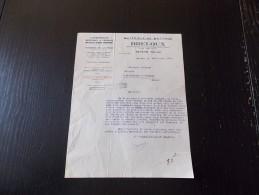 Nevers Breloux Matériels De Battage Locomobiles Batteuse à Graines Fourragères 1935 - Agriculture