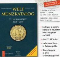1.Auflage 2001-2014 Weltmünzkatalog A-Z Neu 40€ Münzen Schön Battenberg Verlag Coins Europe America Africa Asia Oceanien - Boeken & Software