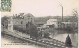 72 - La Chartre-sur-le-Loir (Sarthe) - Vue Générale De L'usine De Crousilles (filature) - Andere Gemeenten