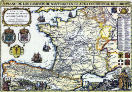 Spagna - Il Cammino Per Santiago Di Compostela - Spagna