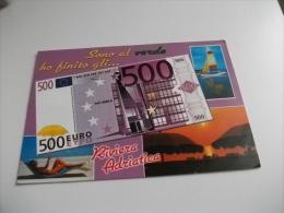 BANCONOTA EURO 500 PIN UP AL SOLE RIVIERA ADRIATICA - Monete (rappresentazioni)
