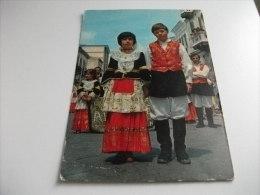 COSTUMI LA CAVALCATA SARDA SASSARI  ASSEMINI  SARDEGNA - Costumi
