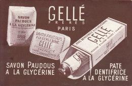 Gellé Frères Paris - Publicité