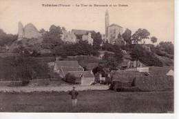 Vellèches.. Animée.. La Tour De Marmande.. Les Ruines - France