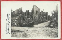 54 - LONGWY - Carte Photo Militaire Allemande - Ruines - Guerre 14/18 - Feldpost - Longwy