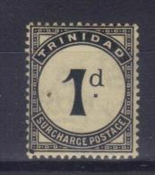 D421 - TRINIDAD 1923 , 4 Segnatasse Yvert N. 18/21  *  Mint - Trinité & Tobago (...-1961)