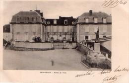 Cpa (89) Seignelay  Hotel De Ville  (tres Belle Carte ) - Seignelay