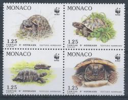 FZ-/-036-- TORTUES WWF - BLOC Des  N° 1805/08, * * , COTE 6.80 €  , - W.W.F.